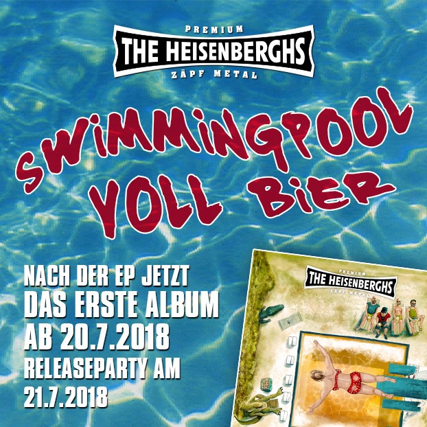 The Heisenberghs Swimmingpool voll Bier